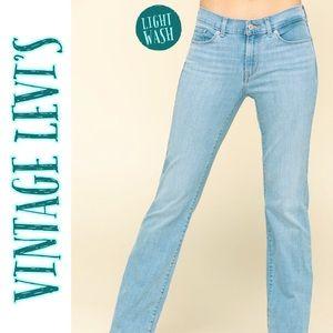 LEVI'S 553 Mid Rise Bootcut Jeans Vintage Wash 10